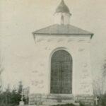 Георгиевская часовня на Братском кладбище воинов СЗА в Копли. Фото до 1940 г.