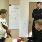 Знакомство с богослужебными книгами на занятии иерея Григория Борисова