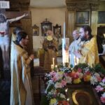Божественная литургия в Александро-Невском храме г. Хаапсалу (04.08.2021)