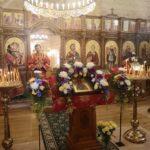 В храме прп. Сергия Сергия Радонежского г. Палдиски во время праздничного богослужения