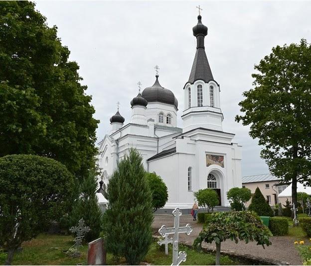 церковь пророка Илии в Васкнарве