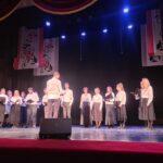 Выступление хора Православного молодёжного клуба «Сретение»