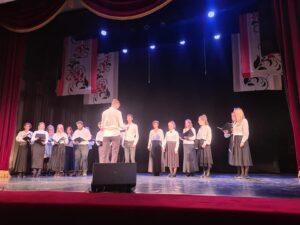 """Выступление хора Православного молодёжного клуба """"Сретение"""""""