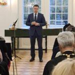 Приветствие вице-мэра Вадима Белобровцева