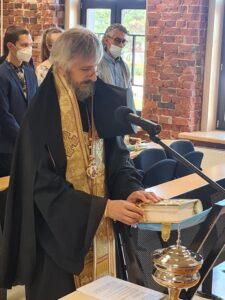 Епископ Маардуский Сергий совершил освящение здания школы.