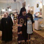 Праздничную Божественную литургию в день храмового праздника возглавил епископ Маардуский Сергий