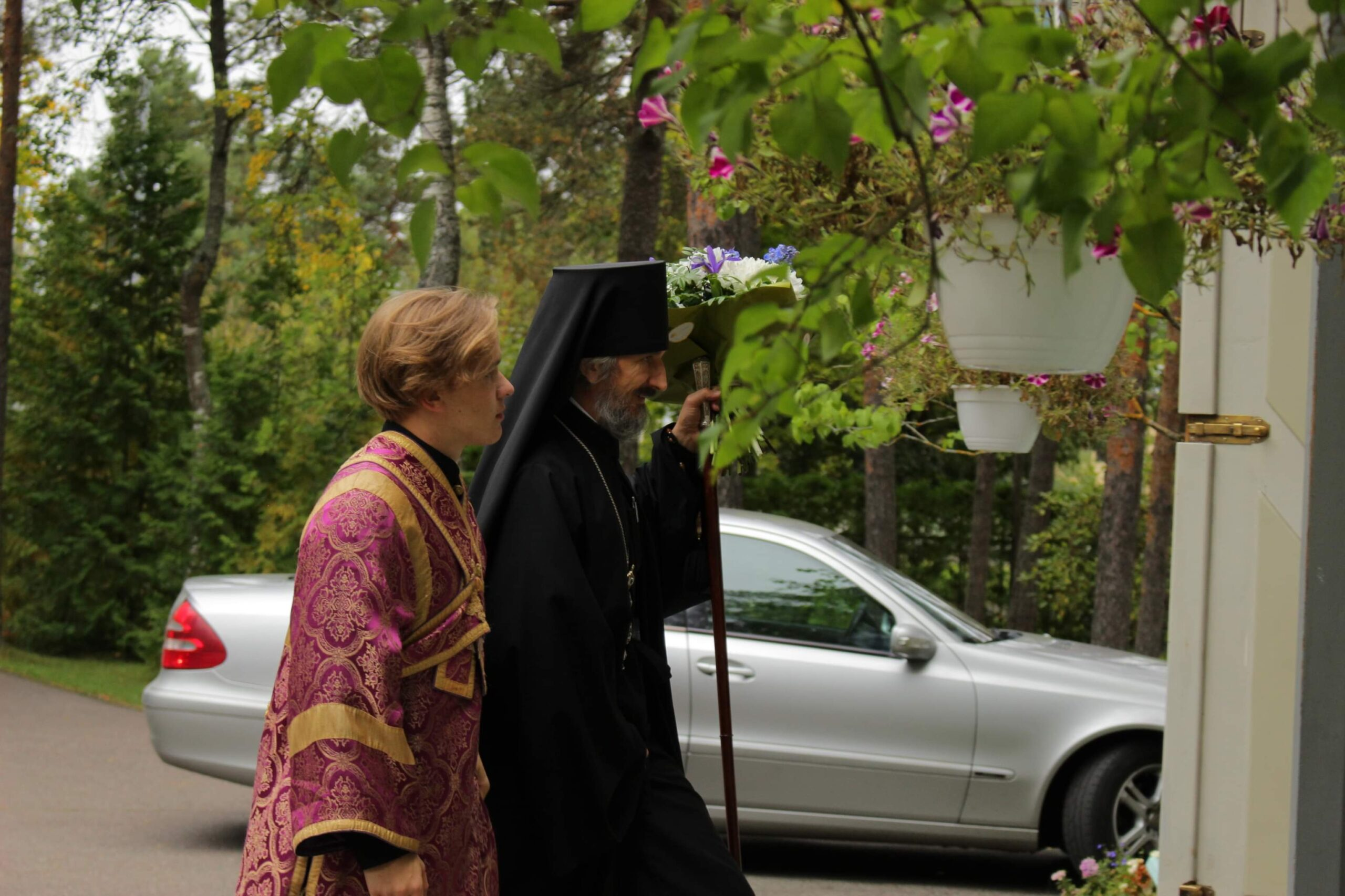 Литургия в день Усекновения главы Иоанна Предтечи в кафедральном соборе г. Таллинна