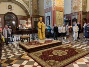В день праздника раннюю Литургию совершил епископ Маардуский Сергий