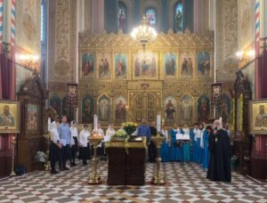 Концерт духовных песнопений по случаю престольного праздника собора