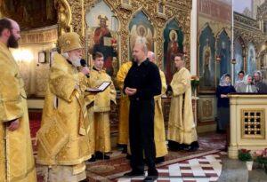 Награждение старосты собора Андрея Зимарина