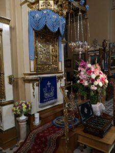 Главная святыня обители - чудотворная икона Успения Пресвятой Богородицы