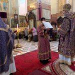 Литургию в день праздника возглавил епископ Маардуский Сергий