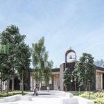 Проект здания Школы св. Иоанна Богослова SKAD Arhitektid