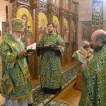 Вручение ордена прп. Серафима Саровского III степени настоятелю храма протоиерею Игорю Прекупу