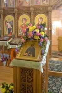 Икона прп. Сергия Радонежского