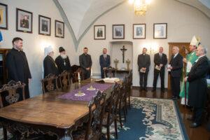 Знакомство с главами и представителями христианских Церквей Эстонии