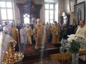 Божественная литургия в Никольской церкви в день памяти св. бл. кн. Олега Брянского